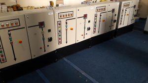 Autotransformer Starter Panels (Outside View)