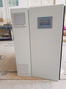 PLC Cabinet Side View