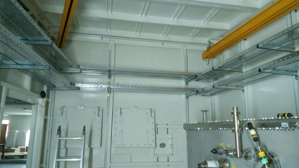 Sesame Xafs Beam Line Power Panel And Cable Tray Teco