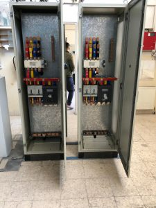 MDB Panel with Manual Changeover Incomer Internal View