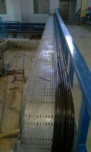 1x300 Cable laying on cable tray