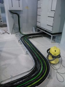 Final Cabling Works
