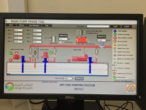SCADA System Screen Shot