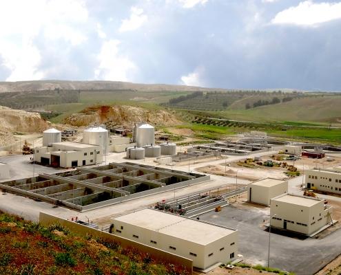 محطة تنقية وادي الشلالة اربد